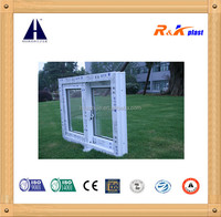 Huazhijie 80mm sliding series plastic pvc window