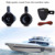 Hasda Black 6.5 inch Waterproof marine wakeboard Speakers
