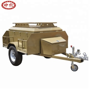 Available OEM No.and 750KG Max Payload Caravan Camper Trailer