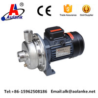 1Hp stainless steel water centrifugal pump
