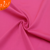 Wholesale 110gsm 88% polyester 12% spandex 50D milk silk knit fabric for sportswear
