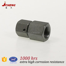 High quality hydraulic steel pipe fitting pressure gauge swivel connectors for German market