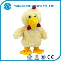 lovely little chicken toy solid educational toys
