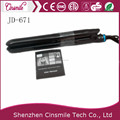 Dual voltage CETL approval tourmaline titanium ceramic electric steam hair straightener flat iron