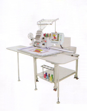 compact type multi popurse embroidery machine with flat chenille sequin function