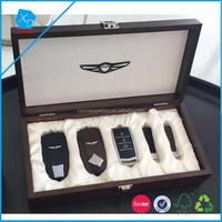 Supreme box logo custom,wood luxury set gift box,deluxe car keys packing box satin lined gift boxes