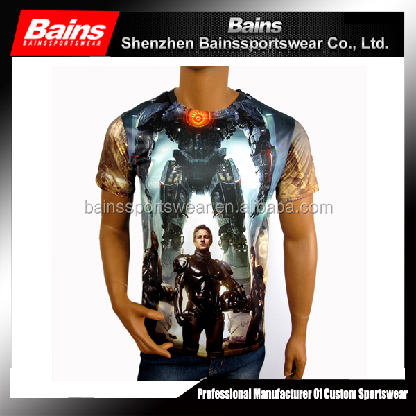 Custom all over sublimation printing fancy design women t-shirts&sublimation t shirts design&design your own t shirt