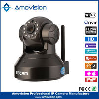 2015 crazy selling H.264 CMOS 720P night vision Escam Pearl QF100 world smallest cctv cameras