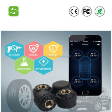 2017 Mini wireless tire pressure monitoring system with external & internal sensors