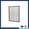 Black Aluminum Flat Top Pool Fence