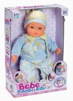 creative hot sell functional ABS crying german baby dolls with EN71