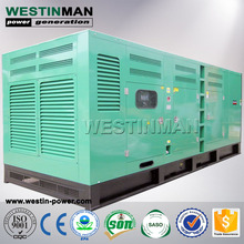 Silent Canopy Perkins 80kva 44kw 50Hz 400V 3 Phase Diesel Generator with 1104A-44TG2 Model