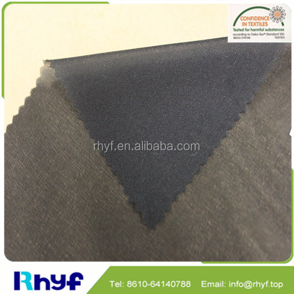 Paste dot high quality wove interlining for lady's clothes
