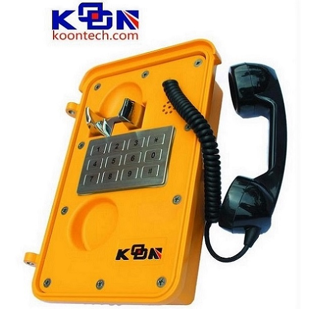 Industrial Telephone KNSP-11 SOS Emergency PhoneIndustrial Analog phone system waterproof telephone