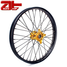 Supermoto Complete 40 Spoke Motorcycle Wheel Rim With Wheel Hub And Spoke