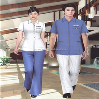 royal design England style Uniform of hotel front office for women