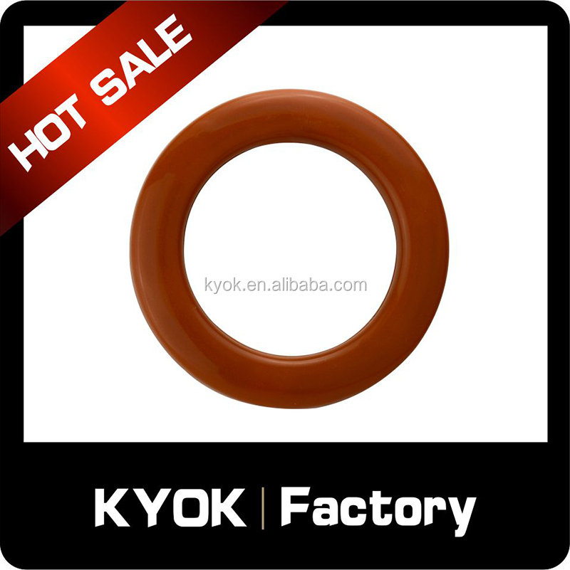KYOK round plastic curtain rings curtain accessories, ABS drapery accessories curtain eyelet wholesale