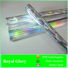 Royal Glory Silver Rainbow Laser Hot Stamping Foil for Textile