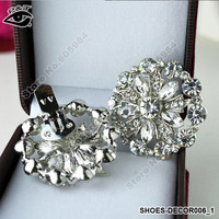 Ornament For Women Shoe Flower Wedding