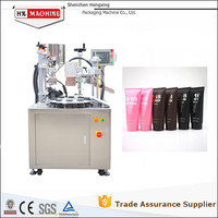 Ultrasonic Facial Cleaner Tube Flling And Sealing Machine For Plastic Tubes