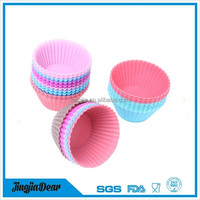 Silicone Muffin Cases Cake Cupcake Liner Baking Mold