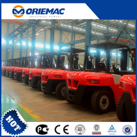 YTO Large Diesel Forklift 8 ton CPCD80 for sale