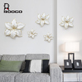 ROOGO resin art and craft decorative fancy cheap lily wall hanging art