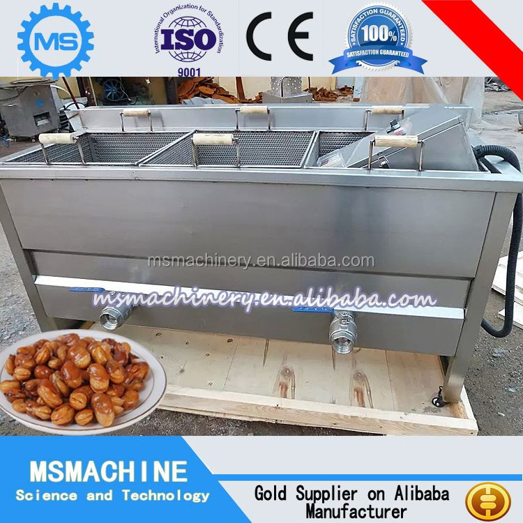 Gari frying machine