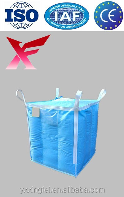 Accept payment by L/C 100% virgin pp high quality 1 ton pp jumbo bag
