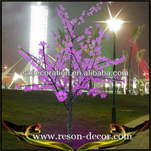 H:1.5m LED lighting tree with flowers decorative tree branches for sale
