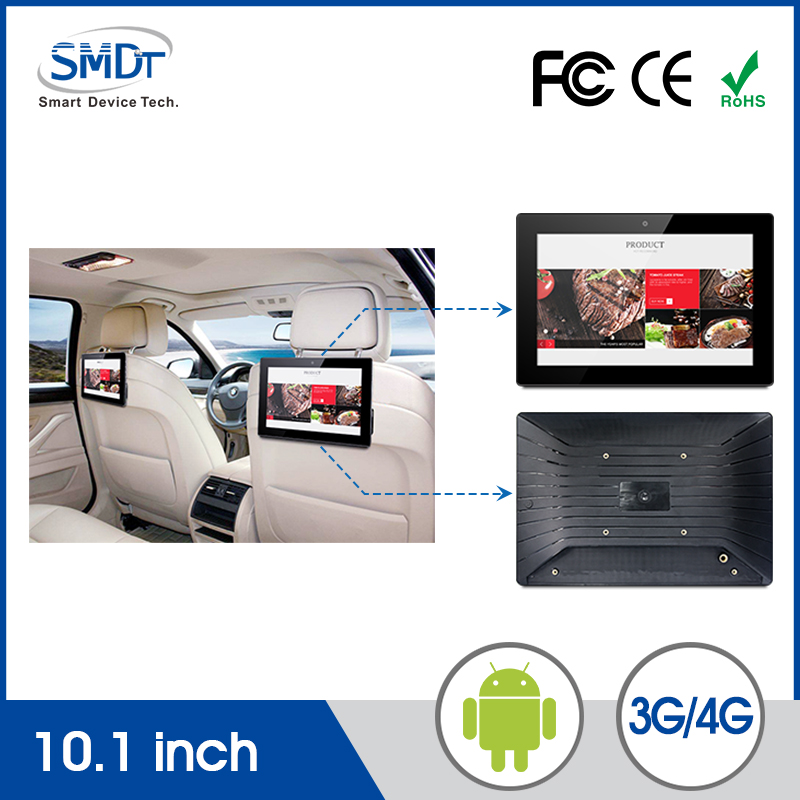 New product 10 inch Entertainment System Taxi Advertising Rear Lcd Monitor Back Seat Tv For Car