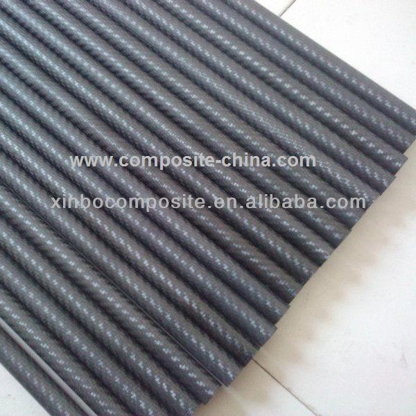 Carbon fiber model tube with high strength and light weight from China manufacturer