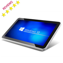 24 inch win 7 os touch screen all in one tablet pc lcd advertising player