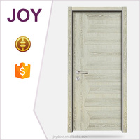 modern house design veneer door skin / melamine molded wooden door