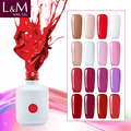 Soak Off UV&LED color uv gel polish factory wholesales 15ml