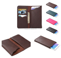 Vertical Cover Premium PU Leather Case with Wallet & Card Slots for Lava 4G A1
