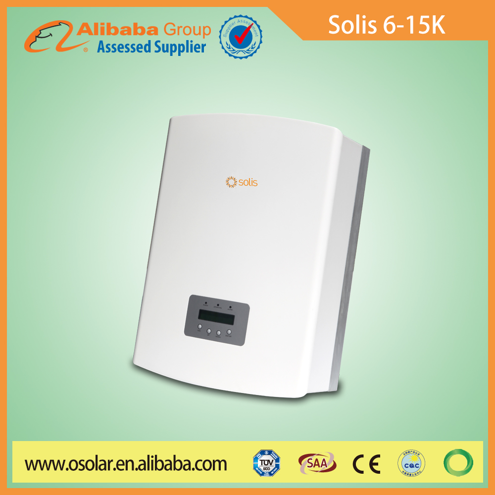 Solis inverter price 3 phase 6kva solar power inverter