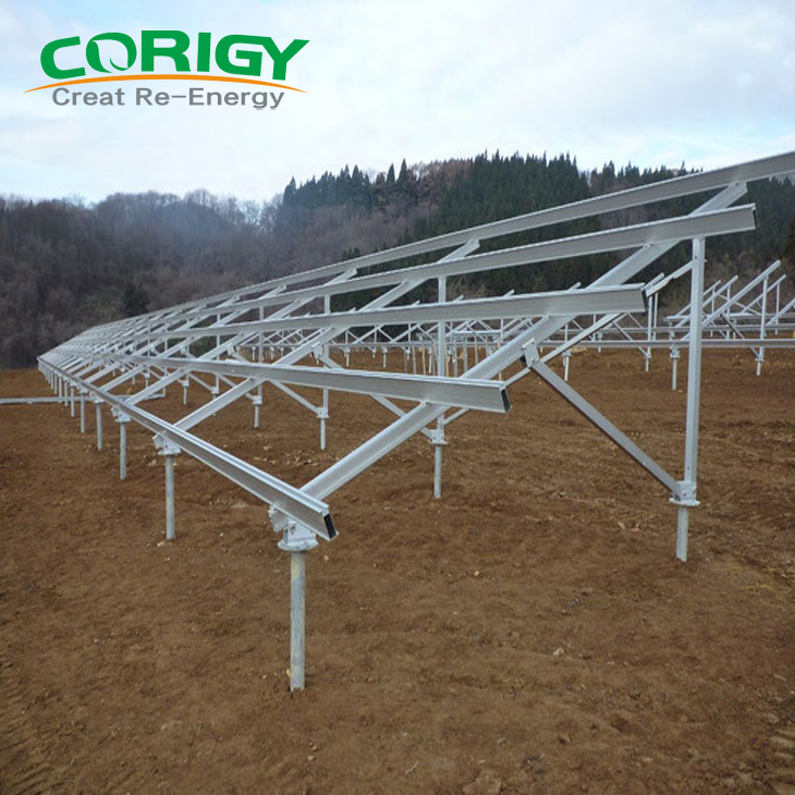 Hot Sale New Energy Products Solar Bracket Solar Panel Mounting System