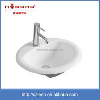 China supplier low price porcelain small wash basin sizes in inches