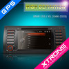 "Xtrons PF7139BGT 7"" HD touch screen car audio system for BMW E53 / X5 with GPS navigation"