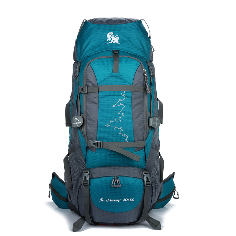85l custom oem hiking backpack with shoe compartment