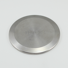 Stainless Steel or Aluminium KF blank flange for Vacuum