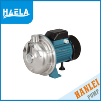 stainless steel hanlei pump 0.75HP CPS-20S electric centrifugal hand water pumps for wells