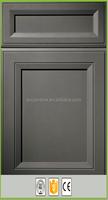 China shaker maple door vinyl warpped kitchen cabinet door cheap