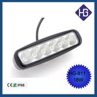 Car parts factory in china 18W 6 inch 12 volt led lightings C-REE bulbs flood/sport/combo