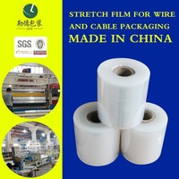 2015 Latest style good quality pe stretch film/plastic wrapping film rich in colour