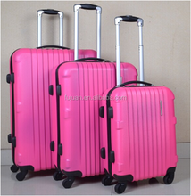 Popular Good Quality 3PCS ABS Suitcase Set ABS Luggage Wholesale