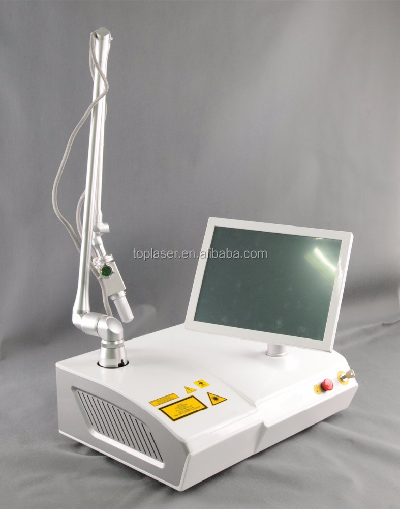 carbon dioxide fractional laser machine portable permanent tattoo removal and pimple treatment