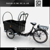 front loading disc brake BRI-C01 aluminum adult cargo tricycle for sale