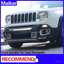 ABS front car bumper for Jeep Renegade 4x4 auto accessoires